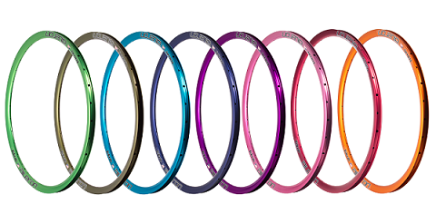 We anodize our rims in-house in Grand Rapids, Michigan!