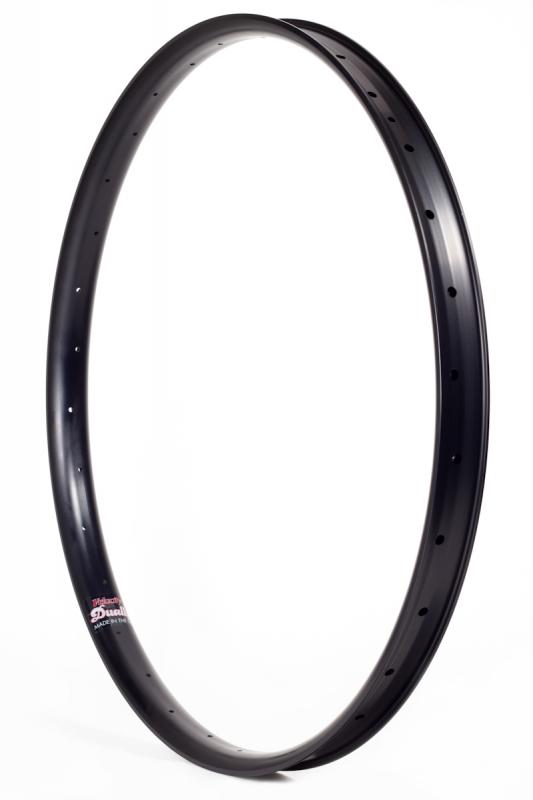 Velocity USA Dually 27.5 B Plus Alloy Front Wheel 100x15 6 Bolt Black